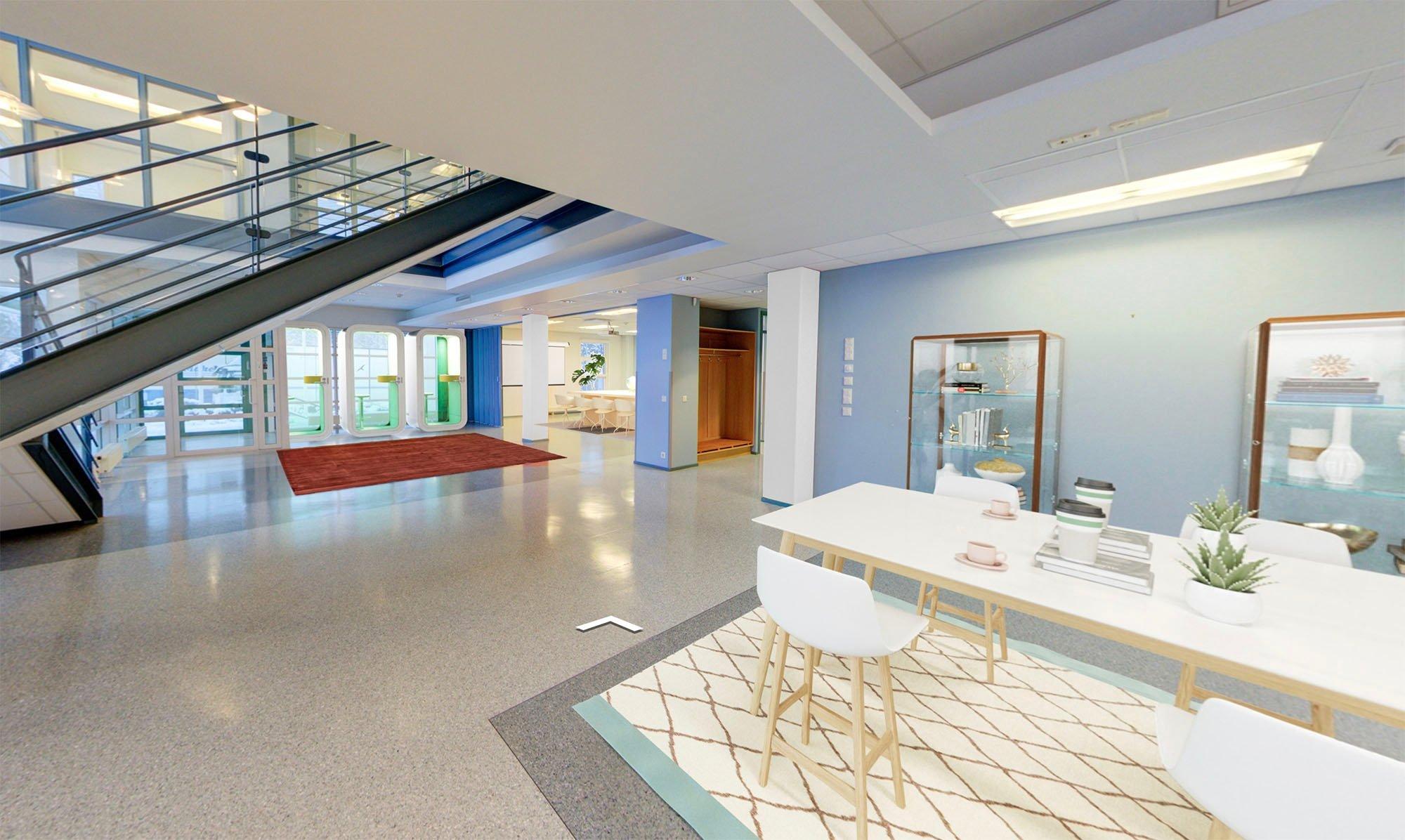 Virtuaalistailaus: Tähtäinkuja aula