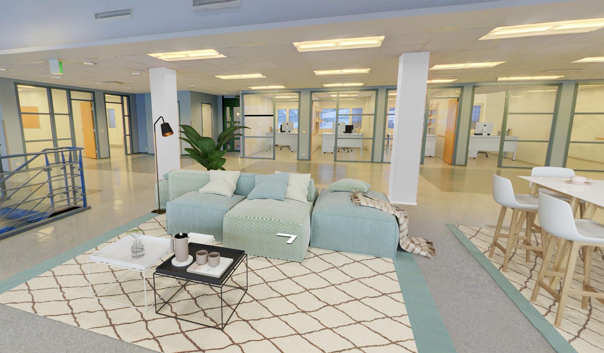 Virtuaalistailaus: lounge-tila