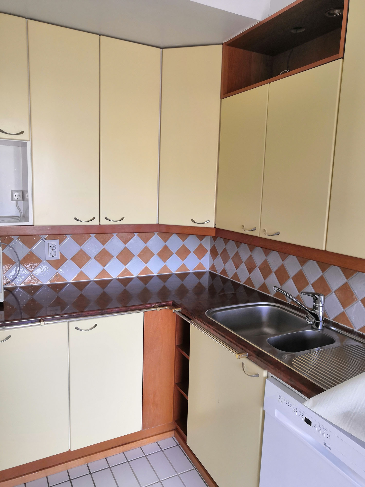 Värikäs ja persoonallinen keittiö